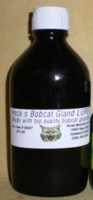 Bobcat Gland Lure 4oz. #00037