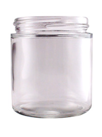 Straight Round Glass 4 oz. #837