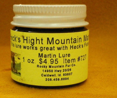 High Mountain Marten Lure 1oz. #727