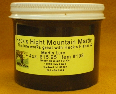 High Mountain Marten Lure 4oz. #198