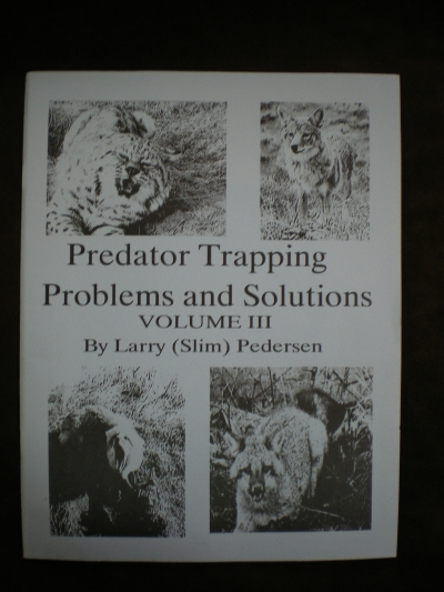 Predator trapping Problems & Solutions Vol 2 By: Peterson